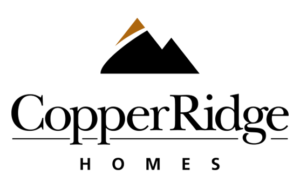Copper Ridge Homes logo and branding portfolio