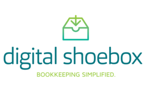 Digital Shoebox logo and branding portfolio