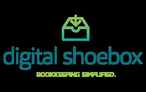 Digital Shoebox logo and branding portfolio