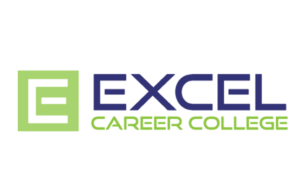 Excel Career College logo and branding portfolio