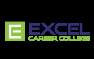 Excel Career College logo and branding portfolio