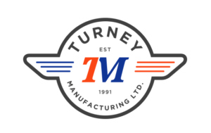 Turnet Manufacturing logo and branding portfolio