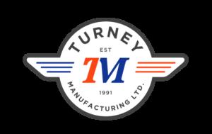 Turnet Manufacturing logo and branding portfolio