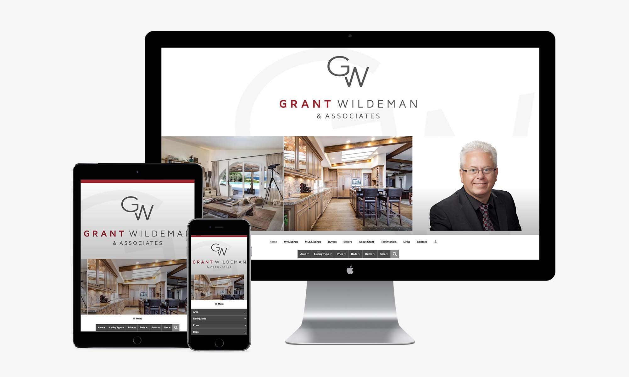 Grant Wildeman responsive web design by Better Mousetrap Marketing