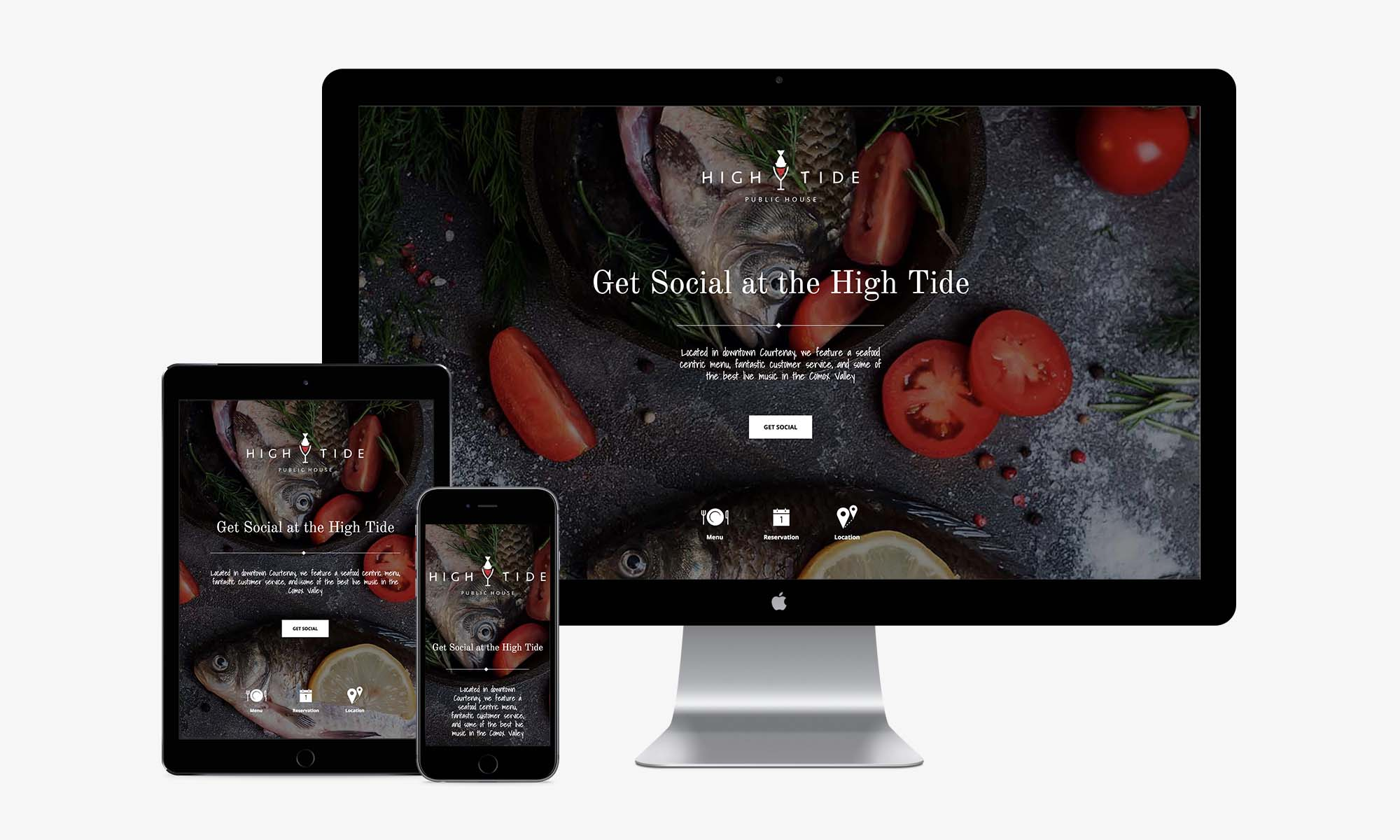High Tide Public House responsive web design by Better Mousetrap Marketing